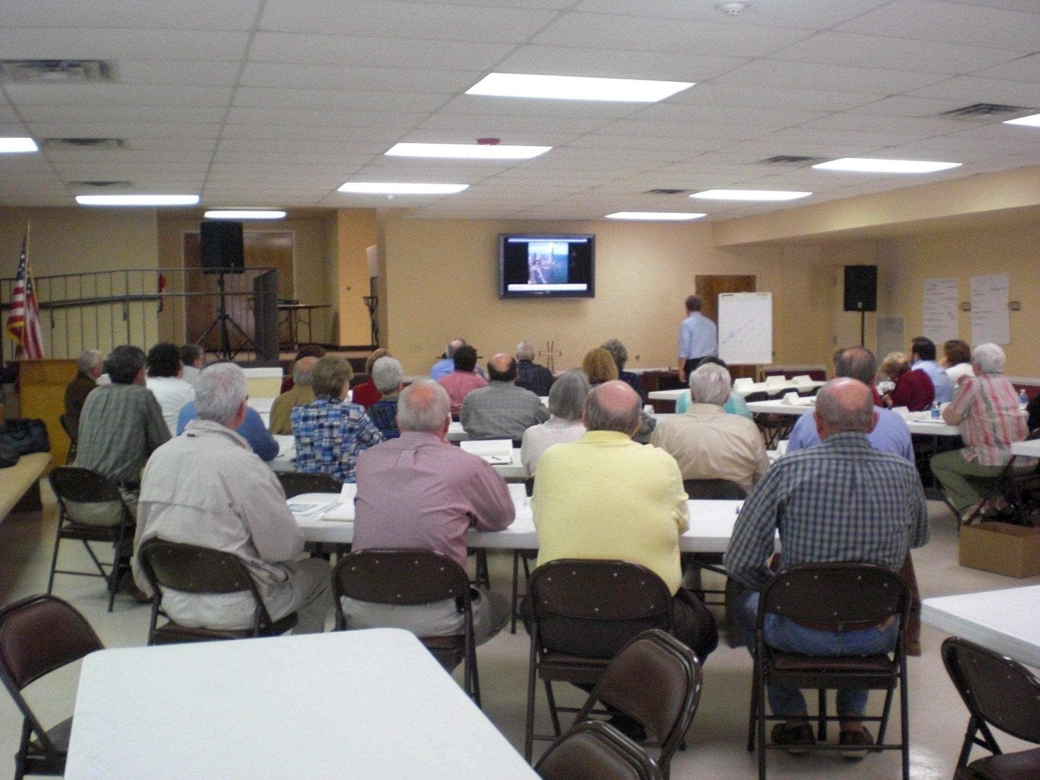 Pastor Evangelism Training in the church