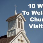 10WaysToWelcomeChurchVisitors