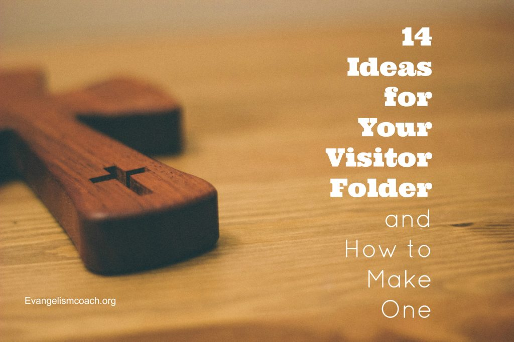 Give your guests a church welcome packet. Here are 14 ideas of what can go in them.