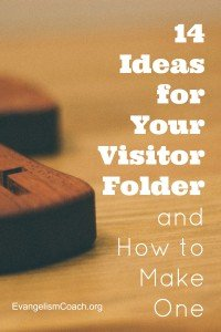 14 Different Ideas of what can be in a Church Welcome Packet and how to make one.