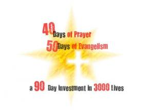 40 Days of Evangelism Prayer