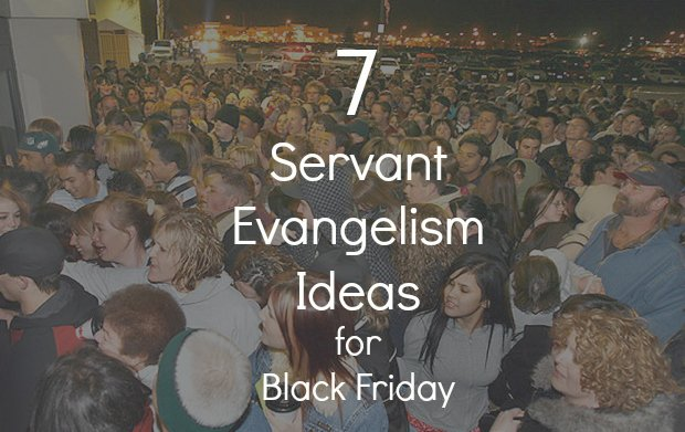 Black Friday Shopping Evangelism