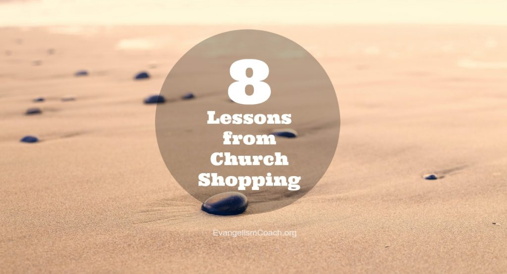8 Church Hospitality Lessons from Church Shopping