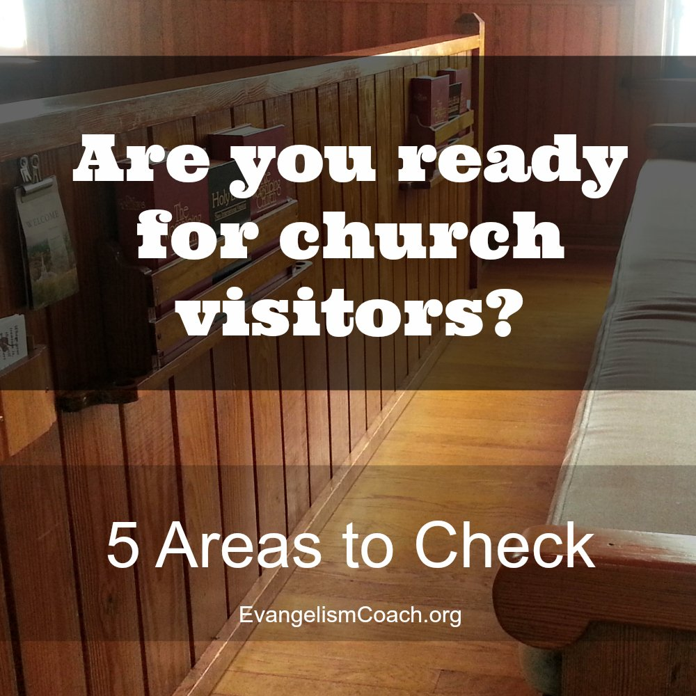 Is Your Church Ready to receive First Time Church Visitors