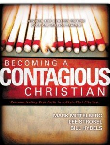 Becoming a Contagious Christian Updated Book Cover