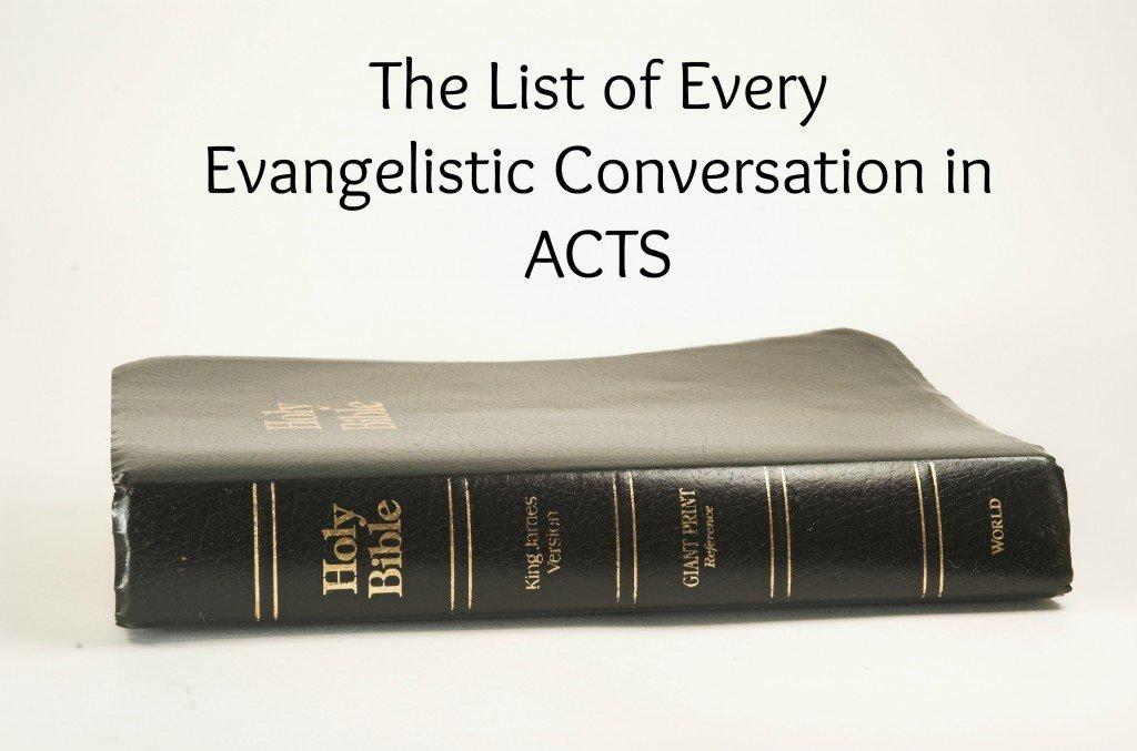 BibleEvangelisticConversations