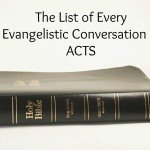 Evangelism Conversations in the Book of Acts