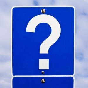 Blue Question Mark Street Sign 123rf