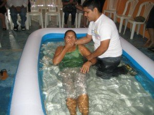 Baptism is the fruit of personal evangelism