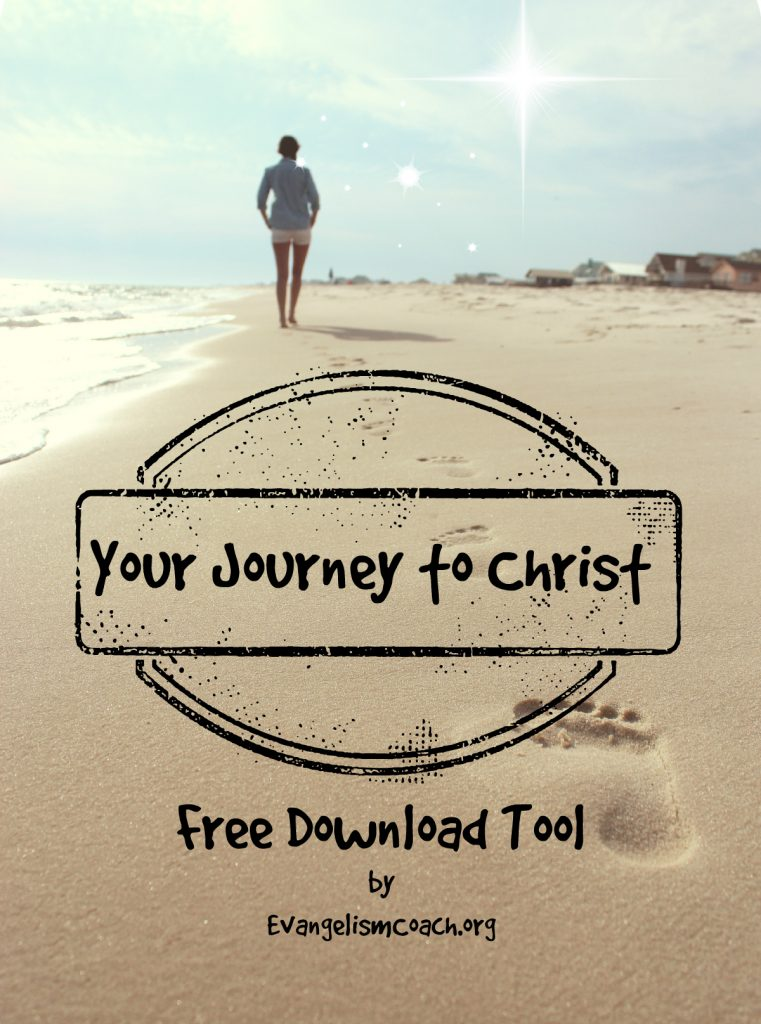 Devotional questions to help you develop your Christian Testimony. Free Download from EvangelismCoach