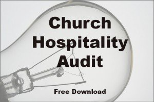 Church Hospitality Audit 3.0 for 2014 is Released