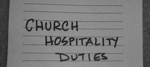 ChurchHospitalityDuties