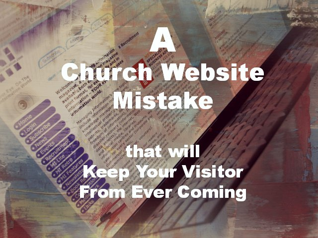 Church Website Failure