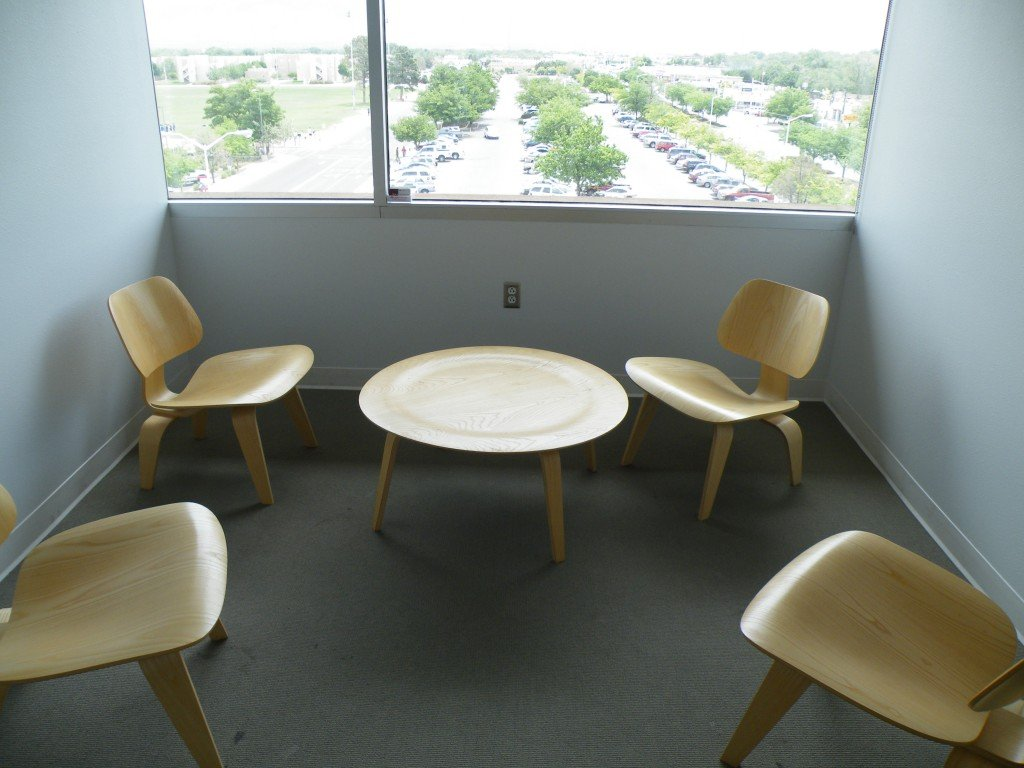 Evangelism Committee Meeting Table