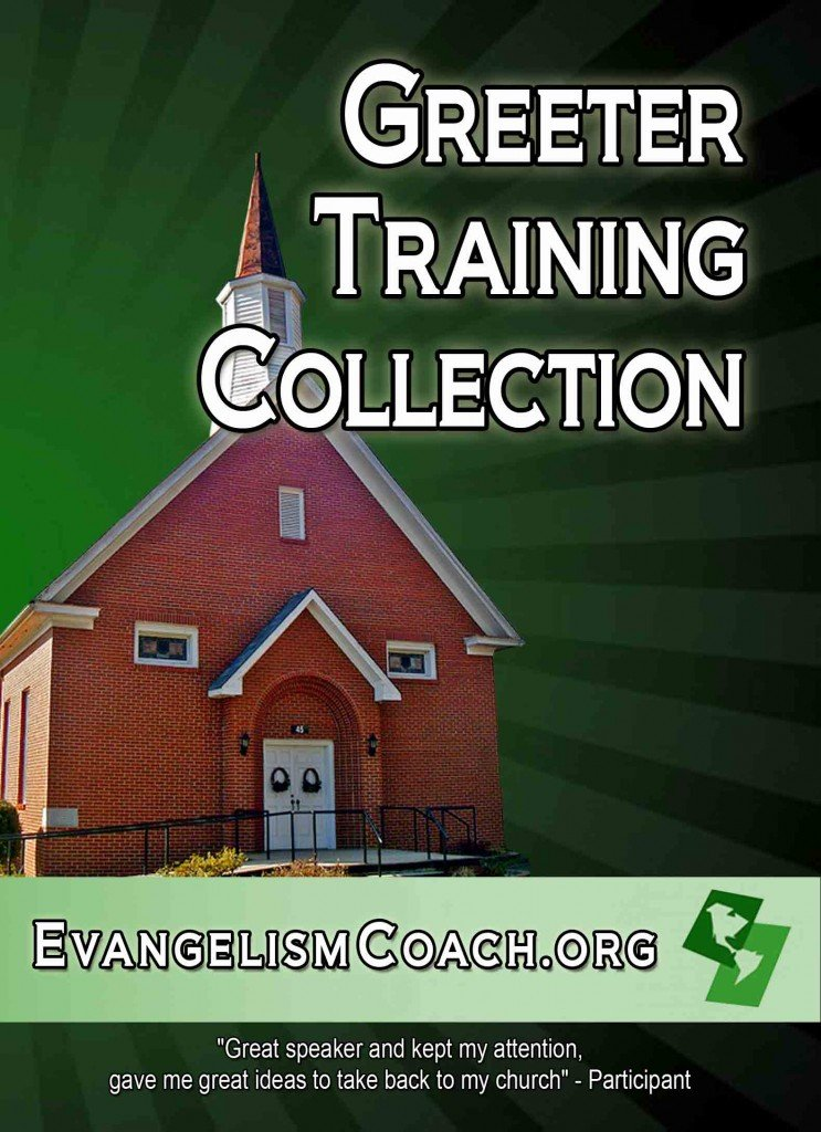 DVD or Download Church Greeter Training
