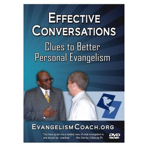 Down or DVD Effective Evangelism Conversations  Product Cover