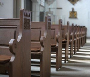 Church Pews are Empty