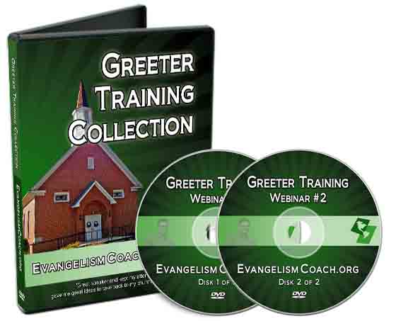 This MultiDVD set is recorded webinar classes aimed at church greeter skills