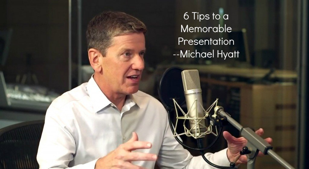 Hyatt 6 rules to effective presentations