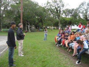 Street Preaching in Volcan
