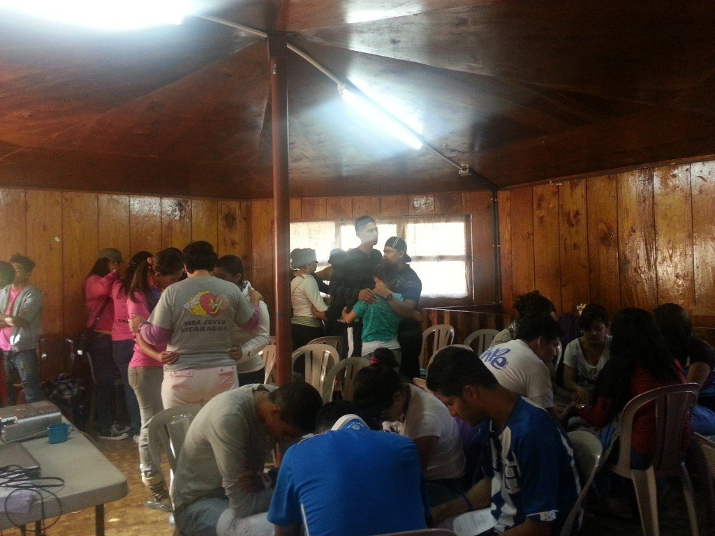 Prayer ministry after evangelistic conversation