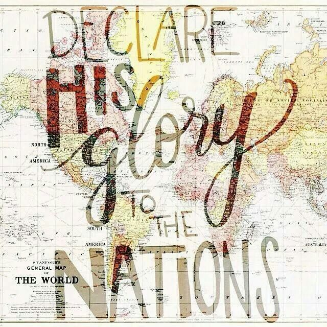 Declare his glory among the nations, his marvelous deeds among all peoples. — Psalm 96:3