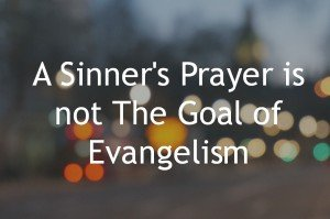 Personal Evangelism and SInners Prayer