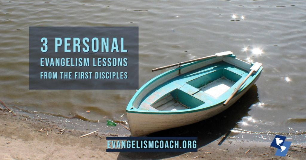 Evangelism Training of the first disciples is very different than what we do today.