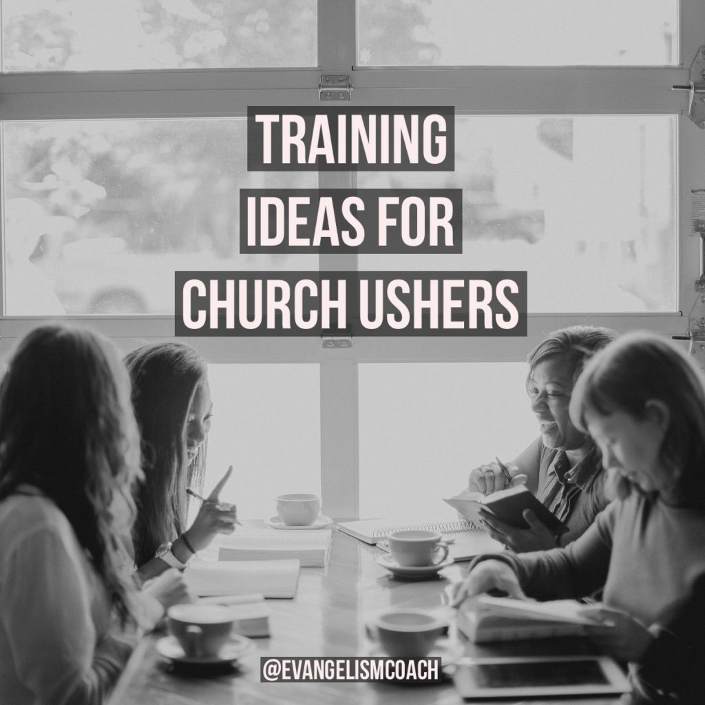 Ministry of Church Ushers: Different Training Ideas for church ushers in their ministry