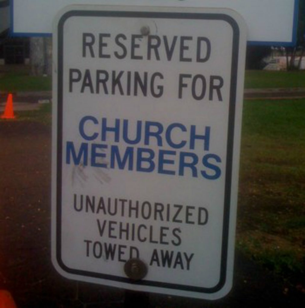 Why is it so hard to visit churches