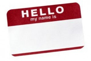 How to Make and Use Church Name Tags