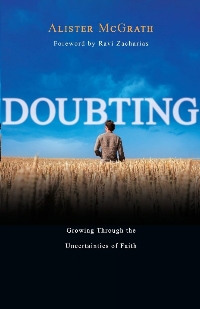Doubting: Growing Through the Uncertainties of Faith, Alister McGrath  Book Cover