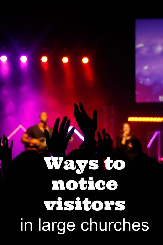 Different Ways to Identify church Visitors in Large Church